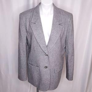 Pendleton Gray Wool Blazer sz 14